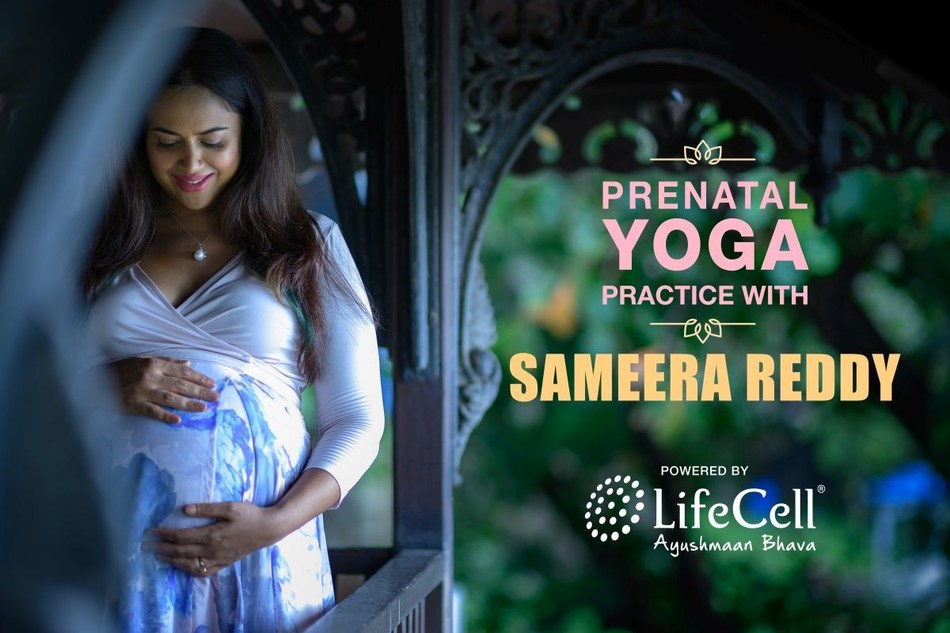 Prenatal Yoga with Ms Sameera Reddy