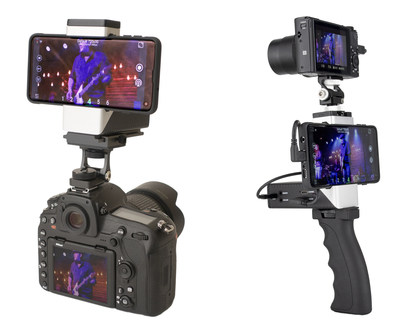 Making its NAB Show debut in Las Vegas next month, StreamGear's new VidiMo Go hardware-and-app combination turns a smartphone and external video source into a full-featured live video production platform in users' hands.