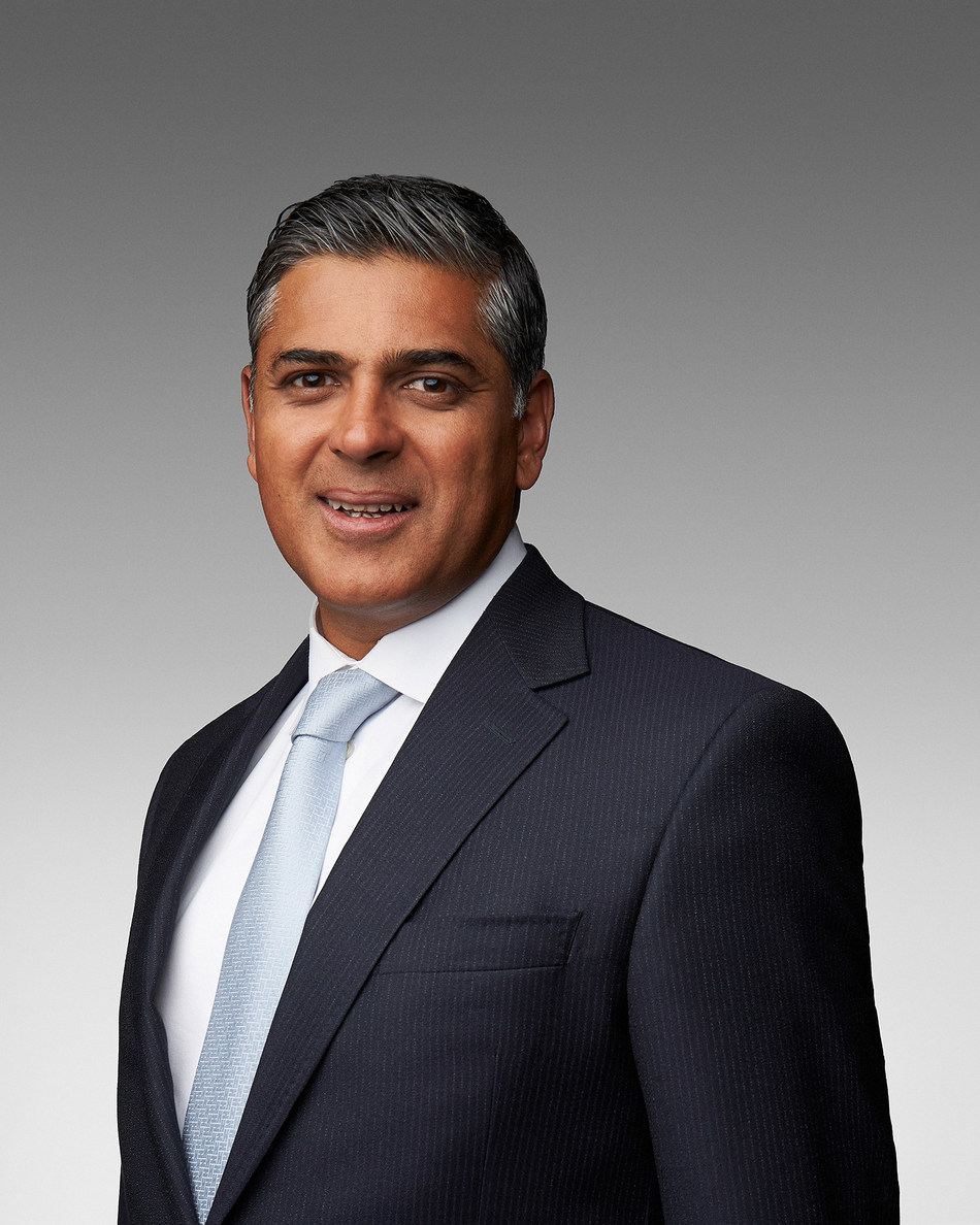 Nadeem Velani, Executive Vice President & Chief Financial Officer of Canadian Pacific (CP) has been named Canada's CFO Of The Year™ for 2020. (CNW Group/PwC (PricewaterhouseCoopers))