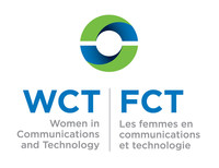 Logo: Women in Communications and Technology - engaging, inspiring and advancing women since 1990. (CNW Group/Canadian Women in Communications & Technology)