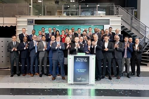 TSX ETF Providers Celebrating 30 Years of ETFs Opens the Market (CNW Group/TMX Group Limited)