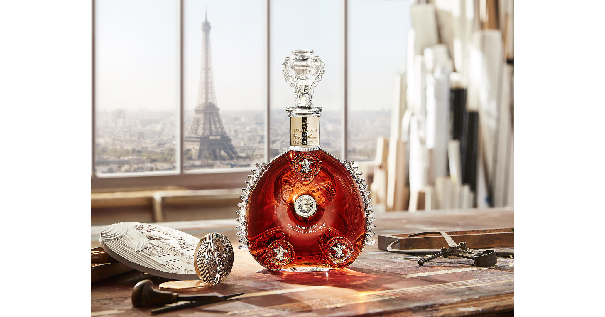 Louis Xiii Cognac Launches A New Limited Edition Celebrating Paris In 1900 With Its Second Opus Of Time Collection