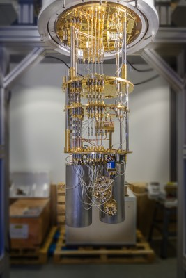 One of IQM´s quantum computers in the headquarters in Helsinki. The new team in Munich will design special-purpose processors for near-term applications.