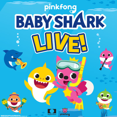 BABY SHARK LIVE! is coming to Canada. (CNW Group/Round Room Live, LLC)