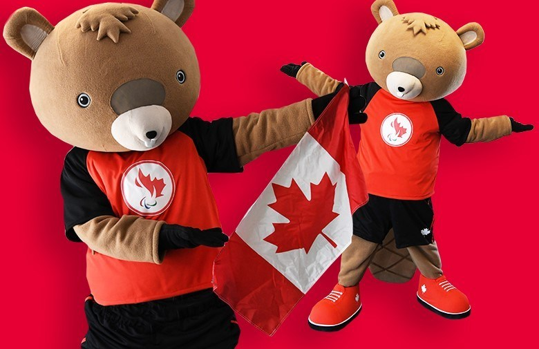 Coda the beaver is the CPC's official mascot (CNW Group/Canadian Paralympic Committee (CPC))
