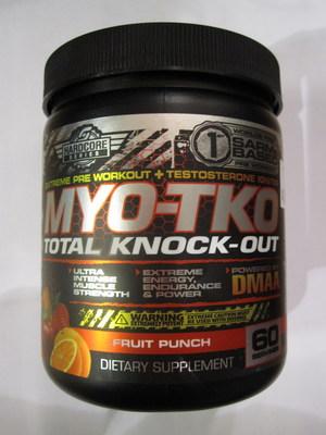 MYO-TKO Total Knock-Out (Groupe CNW/Santé Canada)