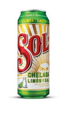 Sol Chelada Limón y Sal