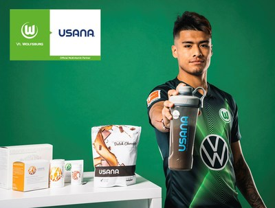 USANA and VfL Wolfsburg enter into exciting new partnership.