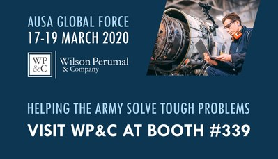 Visit WP&C at Booth #339 at AUSA Global Force from March 17-19