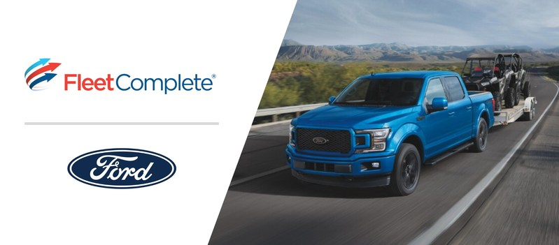 Fleet Complete is now an authorized Ford Data Services provider. (CNW Group/Fleet Complete)