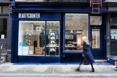 Exterior of the Beautycounter store located at 51 Prince Street