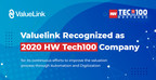 ValueLink Wins the Most Innovative Technology Leader Award - 2020 HWTech100 Mortgage
