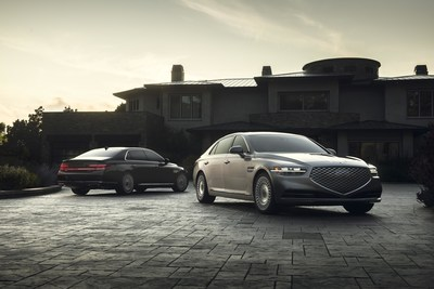 2020 Genesis G90 awarded a TOP SAFETY PICK+ rating by the IIHS.
