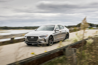 2020 Genesis G70 awarded a TOP SAFETY PICK+ rating by the IIHS.