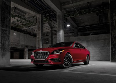 2020 Genesis G80 awarded a TOP SAFETY PICK+ rating by the IIHS.