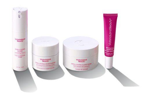 Victorialand Beauty has repackaged its all-natural line of skincare products to include raised trademarked symbols to make products accessible to all consumers.