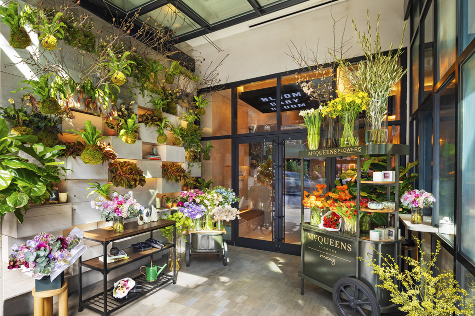 Mcqueens Flowers Announces New York Residency At Moxy Chelsea Opening An Experiential Flower Studio In The Heart Of The Flower District