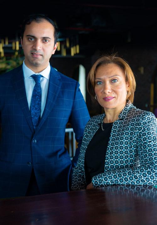 New Leadership Committee members appointed: Ghada Salah as EAM – Sales & Marketing and Ishan Gangakhedkar as Director of Revenue Management (PRNewsfoto/Hyatt Regency Dubai Creek Heigh)