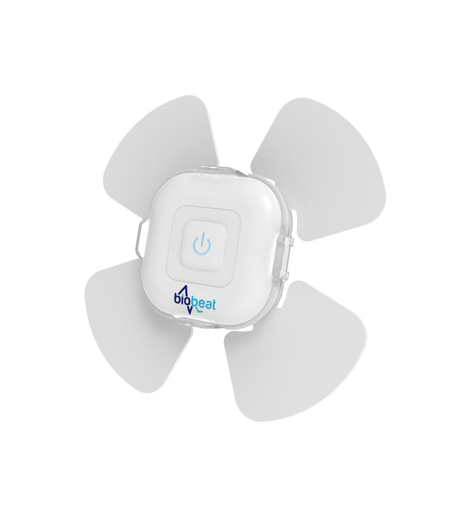 Biobeat single-use medical monitoring patch for COVID-19 patients