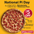 Celebrate Pi Day with Pizza Pies from Pilot Flying J
