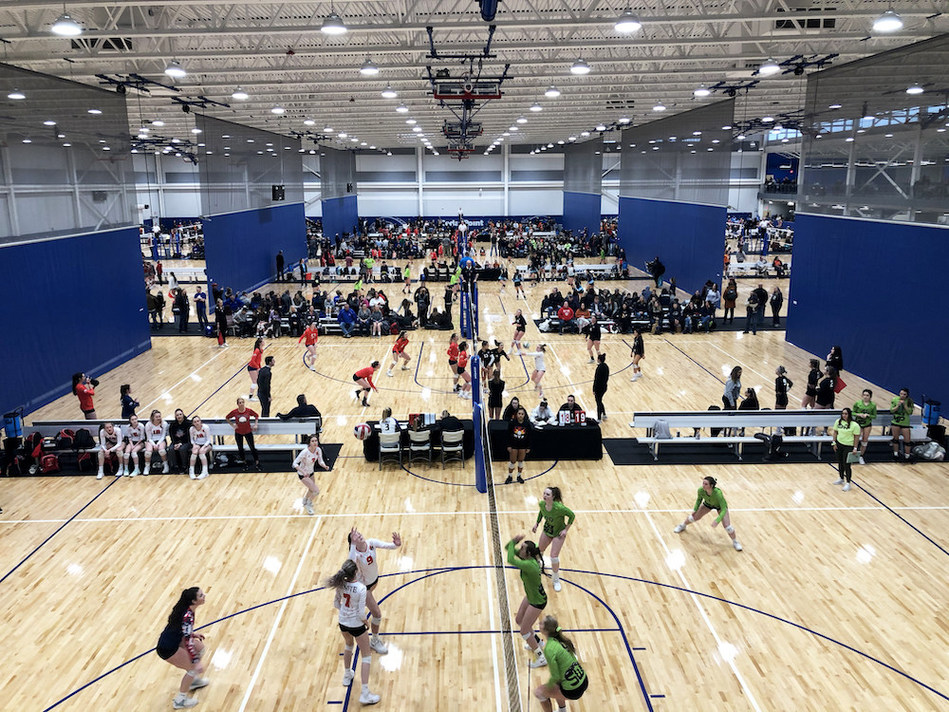 Cedar Point Sports Center Hosts 160 Teams in Inaugural Volleyball Tournament