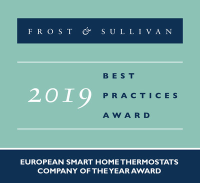 eQ-3 Commended by Frost & Sullivan for Leading the European Smart Thermostats Market with its Array of Whole Home Solutions