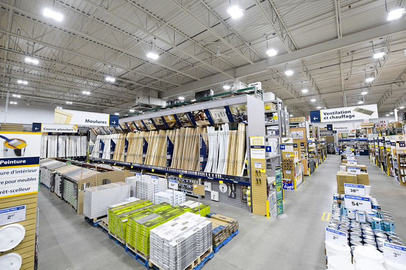 Lowe's Canada announces the adoption of a target to reduce its greenhouse gas (GHG) emissions to 40% below its 2016 levels by 2030. (CNW Group/Lowe's Canada)