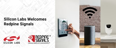 Silicon Labs plans to expand its IoT wireless platform with the acquisition of Redpine Signals' connectivity business.