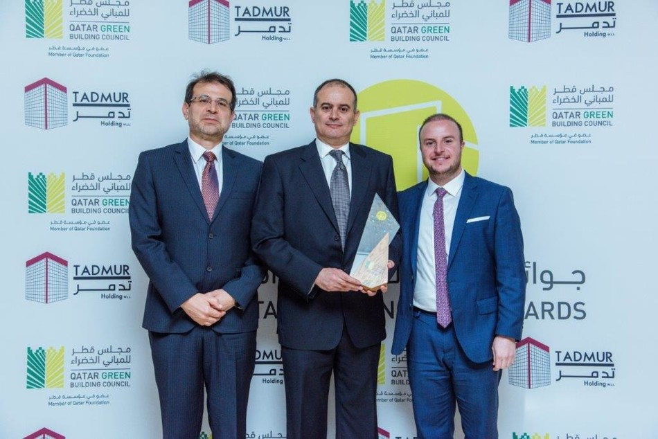 CCC wins Green Contractor of the Year award at the Qatar Sustainability Awards 2020