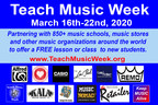 FREE Music Lessons to Celebrate Teach Music Week - 850+ locations