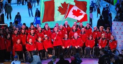 Équipe Canada Jeux paralympiques d'hiver de 2010 (Groupe CNW/Comité paralympique canadien (CPC))