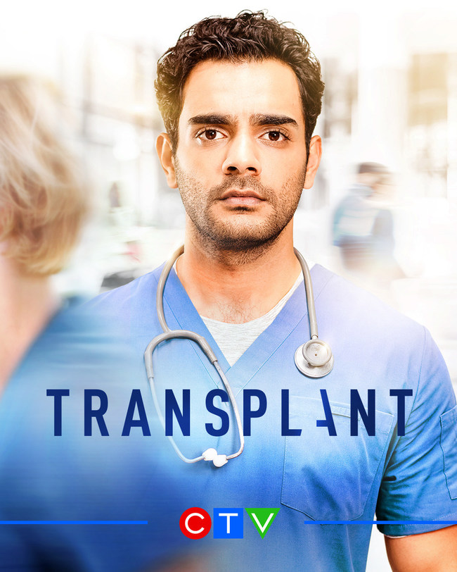 Hamza Haq from CTV Original series Transplant (CNW Group/CTV)
