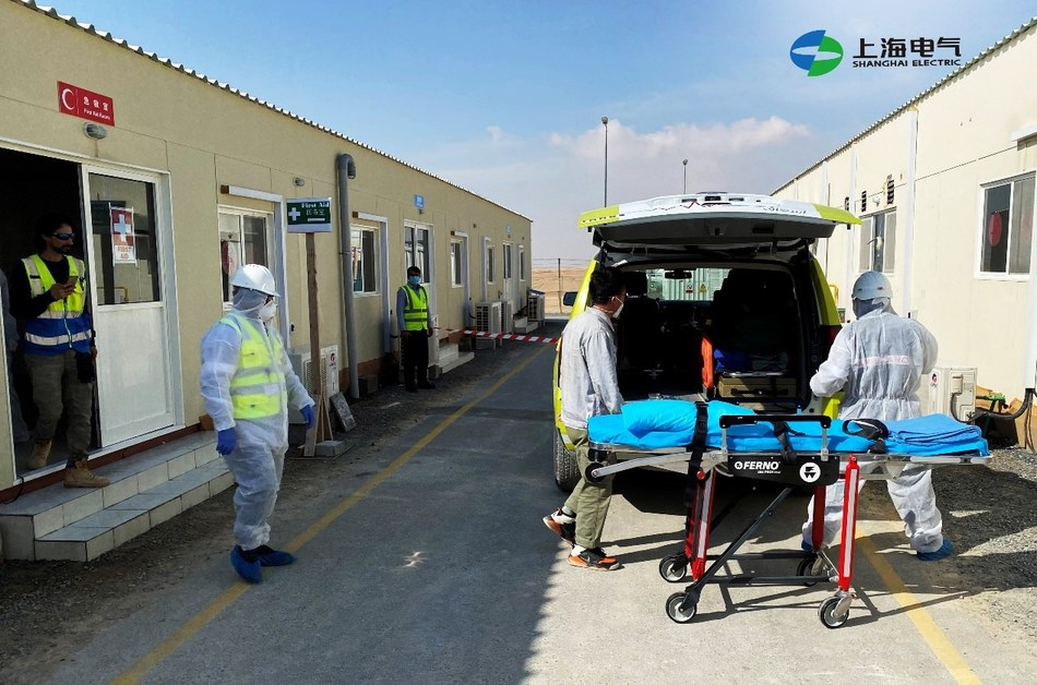 Shanghai Electric Dubai holds regular HSE safety drills