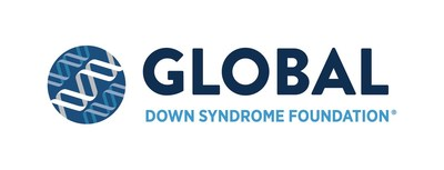 Global Down Syndrome Foundation Logo (PRNewsfoto/Global Down Syndrome Foundation)