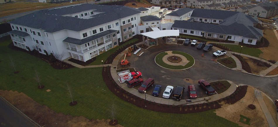 Watercrest Fort Mill - Indian Land Assisted Living and Memory Care has entered the final phase of construction and is scheduled to welcome residents this May.