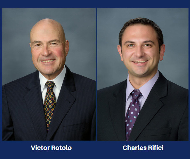 Victor A. Rotolo and Charles Rifici of Rotolo Karch Law - Selected to the 2020 NJ Super Lawyers Lists