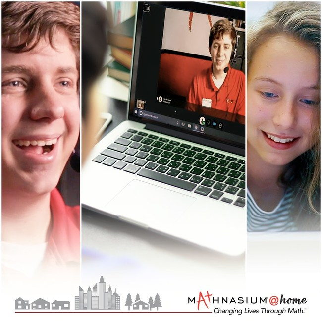Mathnasium @home allows students to keep up, catch up, or soar ahead in math from anywhere with an internet connection — live, with expert instructors using the same Mathnasium Method™ as in learning centers. And it costs no more than traditional enrollment.