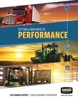 Cervus Equipment 2019 Annual Report (CNW Group/Cervus Equipment Corporation)