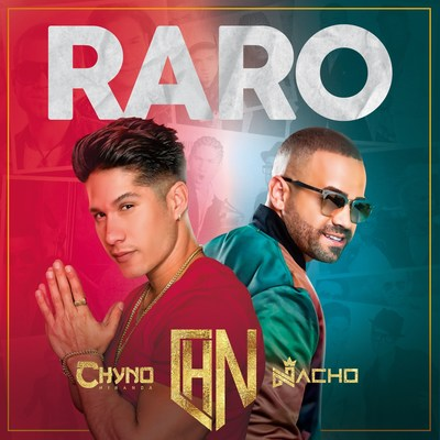 "Portada de ""Raro"", de Nacho y Chyno Miranda"