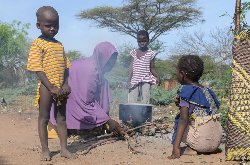 A mother may have just enough for food that evening but not enough to protect her children from the harsh heat in Kenya. Children in Kenya are exposed to sharp objects and infectious diseases due to a lack of basic necessities like shoes.