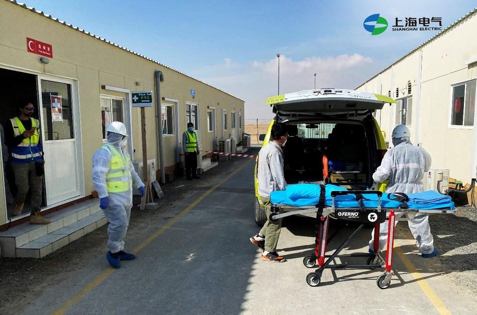 Shanghai Electric Dubai realiza treinamentos regulares de segurança em HSE (PRNewsfoto/Shanghai Electric)