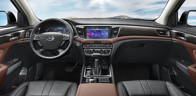 Pic 2: GS8's interior seamlessly blends quality and luxury