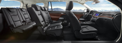 Pic 3: The spacious interior of SUV GS8