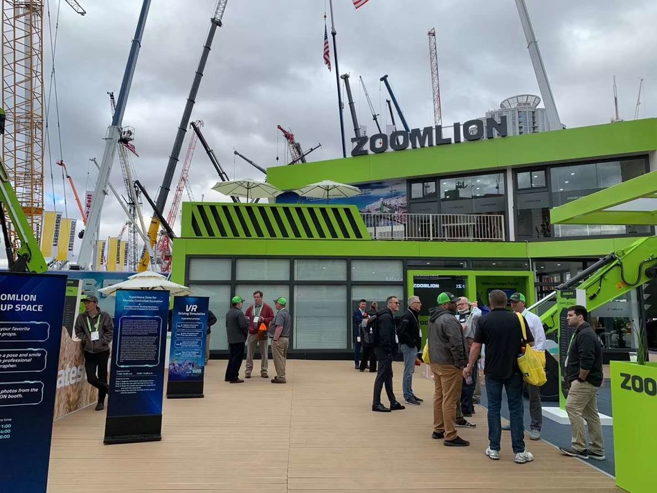 Zoomlion's Launches Customized 5G Products at Conexpo-Con/Agg 2020 (PRNewsfoto/Zoomlion)