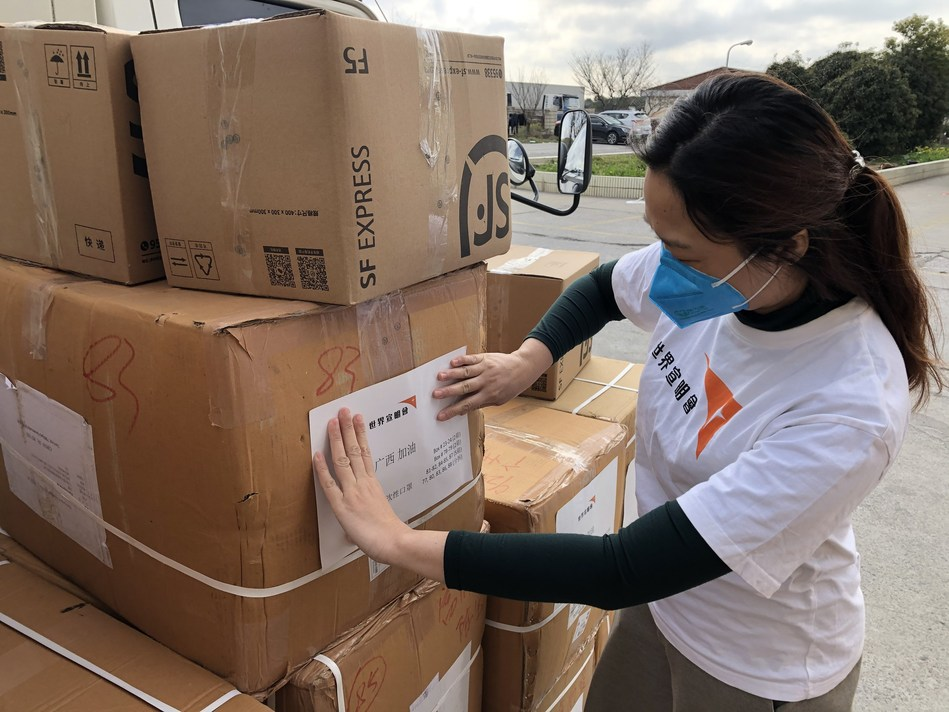 World Vision staff have been working tirelessly to provide the much needed medical gear and equipment to fight the spread of COVID-19 and keep communities and health workers safe. (CNW Group/World Vision Canada)