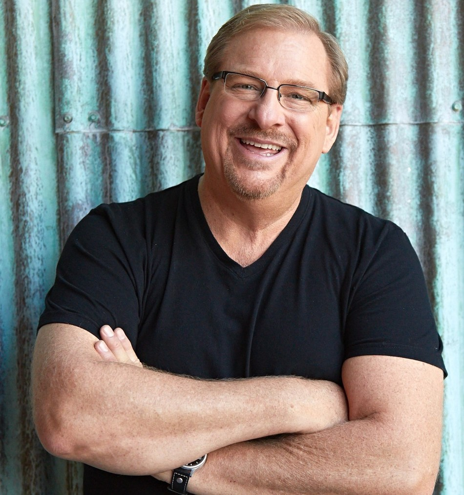 """Rick Warren, pastor of Saddleback Church and best-selling author of """"The Purpose Driven Life."""""""