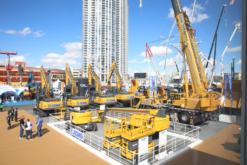 XCMG's Mega Exhibition Shines at CONEEXPO-CON/AGG 2020 Bringing New orders and New partners