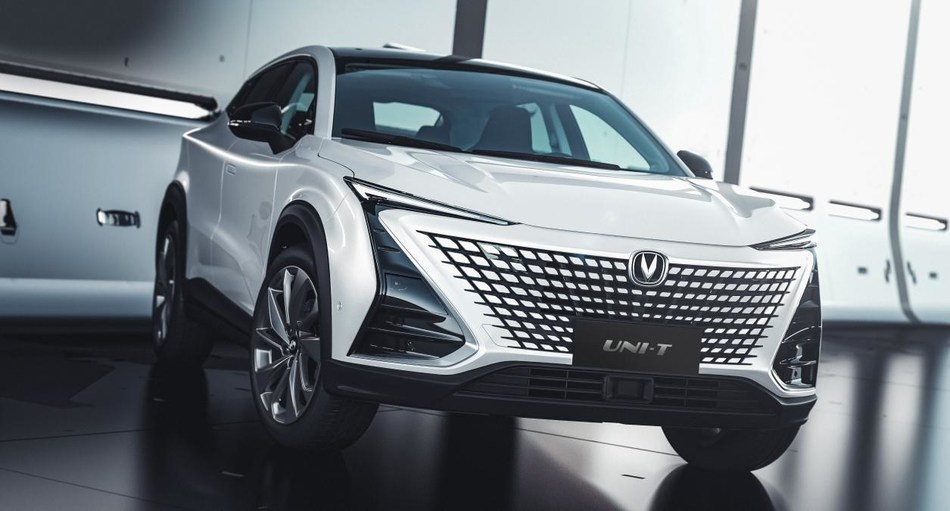 China-based automaker Changan Automobile's new model UNI-T formally makes debut worldwide