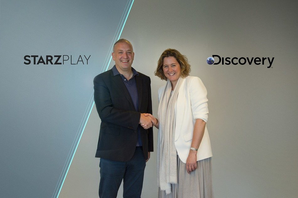Discovery and STARZPLAY partner to launch Dplay in MENA (PRNewsfoto/STARZPLAY and Discovery)
