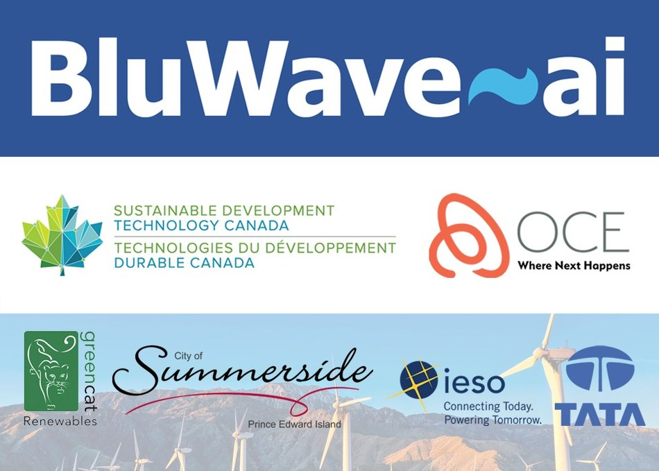 Sustainable energy company BluWave-ai raises $3.9M in seed round with lead funders Sustainable Development Technology Canada (STDC) and OCE. Customers include Greencat Renewables, City of Summerside, IESO and Tata Power. (CNW Group/BluWave-ai)